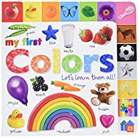 Tabbed Board Books: My First Colors: Let's Learn Them All! (My First Tabbed Board Book)