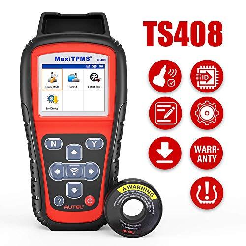 2021 Autel TPMS Relearn Tool TS408, Upgraded of Autel TS401, Tire Pressure Monitor Sensor Programming and Rest Tool for All Cars, TPMS Reset, Sensor Activation, Program for Autel MX-Sensors