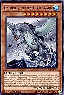 Yu-Gi-Oh! - Gameciel, the Sea Turtle Kaiju (DOCS-EN088) - Dimension of Chaos - 1st Edition - Rare