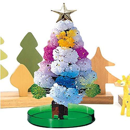 Cattliy Magic Growing Tree Christmas Halloween Intersting Gift Paper Tree Toy Boys Girls Novelty Xmas DIY Felt Decorations Tree (10ml, Multicolor)
