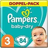 Pampers Baby-Dry Größe 3, 42 Windeln, bis zu...