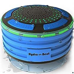 powerful Portable Waterproof Bluetooth Shower Radio – HB Light – Impact Resistant, Dust Resistant, Wireless…
