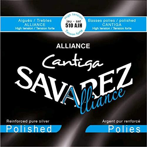 Savarez Saiten für Klassikgitarre Alliance Cantiga Satz geschliffen 510AJH