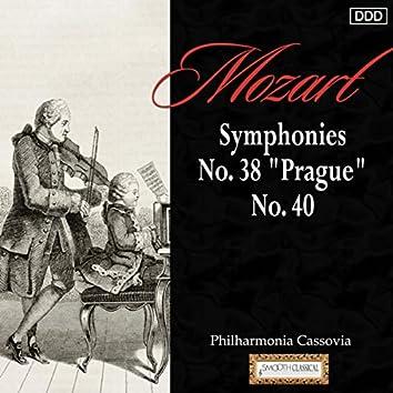 """Mozart: Symphonies Nos. 38, """"Prague"""" and 40"""