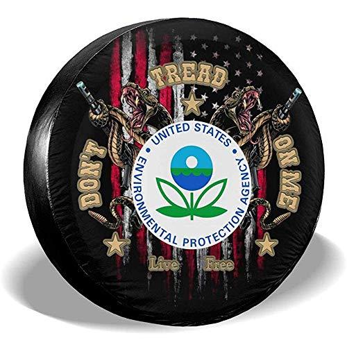 LYMT Environmental Protection Agency EPA Treten Sie Nicht auf Mir Reserverad-Reifenabdeckung für Anhänger-RV-SUV-LKW
