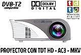 Proyector portatil Unicview SG100, soporta hasta FULLHD, con TV TDT de Alta...