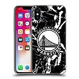 Head Case Designs Licenza Ufficiale NBA Marmoreo 2019/20 Golden State Warriors Cover in Morbido Gel Compatibile con Apple iPhone X/iPhone XS