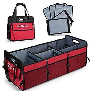 Car Trunk Organizer Portable Cargo Storage