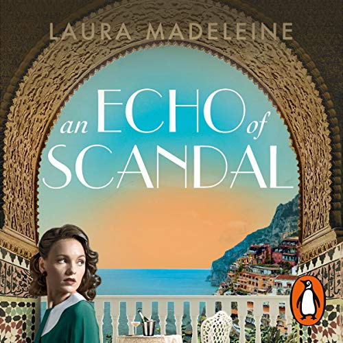 An Echo of Scandal audiobook cover art