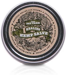 The Fay Farm's Organic Healing Hemp Salve - 1.5 oz