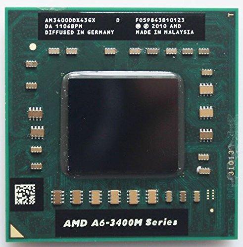 AM3400DDX43GX AMD A6 Series Quad-core A6-3400M 1.4GHz Mobile Processor AM3400DDX43GX