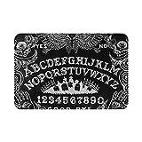 BCOSOBK Ouija Board Black Print Toland Home Garden Welcome Dog Decorative, Standard Doormat,15.7 X 23.6 inch