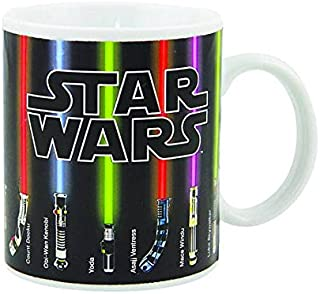 Star Wars Lightsaber Heat Change Coffee Mug 12 OZ Ceramic - Great Gift For Star Wars Fans!