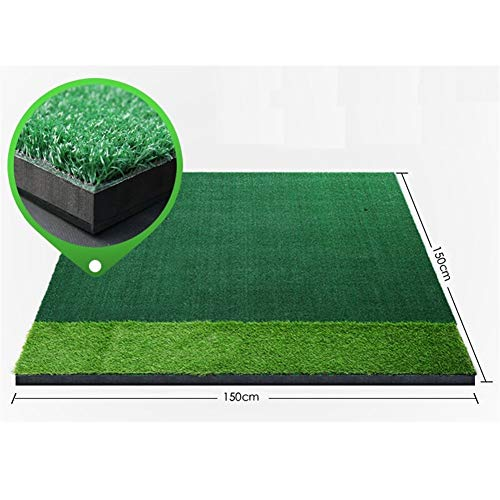 Lowest Price! ChenCheng Golf Practice pad Strike pad Two Kinds of Lawn with Anti-Skid pad, 3D Shock ...