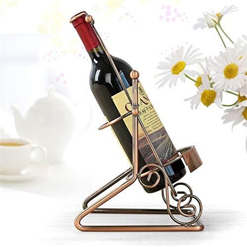 Regolabile Portabottiglie Da Vino, Casa Mestiere Titolare Bottiglia Di Vino Stand Bottiglia Di Vino Hanger Famiglia Bar Armadio Decorazione Metallo Titolare Del Vino