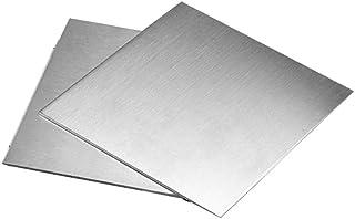 Chapa de acero inoxidable de 3/mm rectificada por un lado K 240 l/ámina de hasta 1000 x 1000/mm. V2A