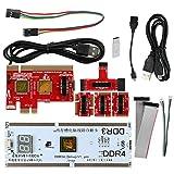 KYHOPE KQCPET6 V8 Multifunction Laptop and Desktop PC Universal Post Diagnostic Test Card Debug Support LPC,PCI,PCI-E,MiniPCI-E,EC