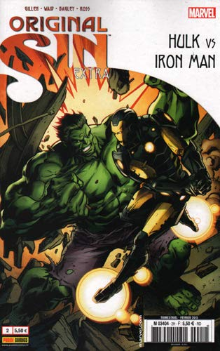 Original sin extra 02 : Iron man vs Hulk