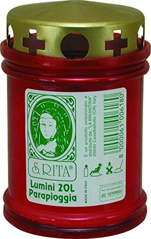 Die briantina Teelichter Rita Regenschutz, Rot, 60-