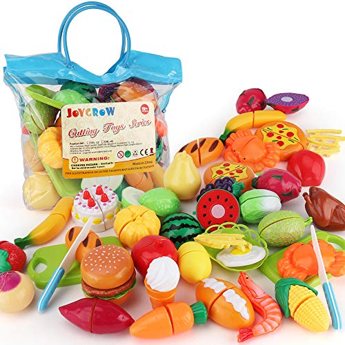 Sotodik 32PCS Cutting Toys Pretend Food...