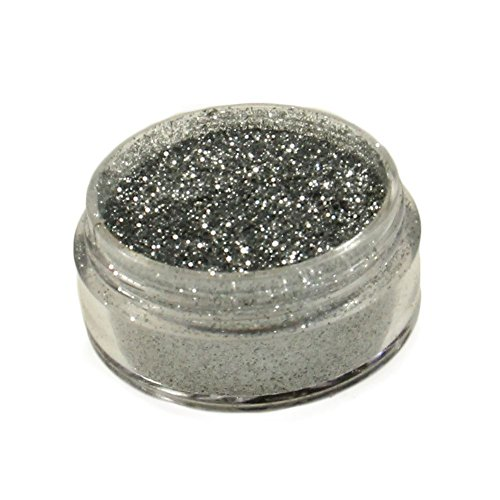 Diamond FX Polyester Glitter – Bright Silver (5 GM)