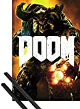 1art1 Doom Poster (91x61 cm) Cyber Demon Inklusive EIN Paar
