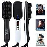 COF Cepillo para Alisar la Barba para Hombres, Peine iónico