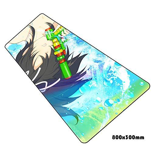 IGZNB Senran Kagura Mauspad Hd Muster Notbook Computer Gaming Gamer Laptop 80X30Cm Mauspads Farbe D