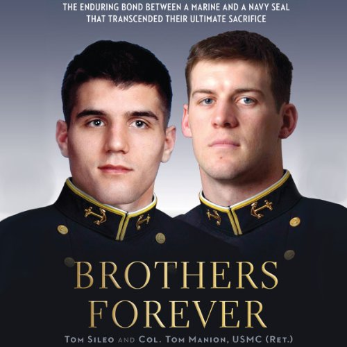 Brothers Forever audiobook cover art