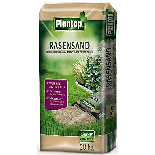 Plantop Rasensand mit Wurzelaktivator 20 kg