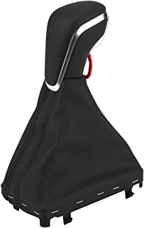 Qiilu Gear Shift Knob حذاء Gaiter 4GD 713 139B IBR Kit لسيارة Audi A6 C7 2015-2018 A7 4G8