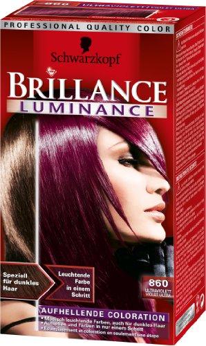 Schwarzkopf Brillance Luminance 860 Ultraviolett Stufe 3, 1 Stück