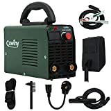 ARC Welder Mini, Cuwiny ARC200D 110v/220v IGBT Inverter Welding Machine, Maximum 140A MMA/Stick, Dual Voltage with High Frequency Duty Cycle Digital Display Welding.