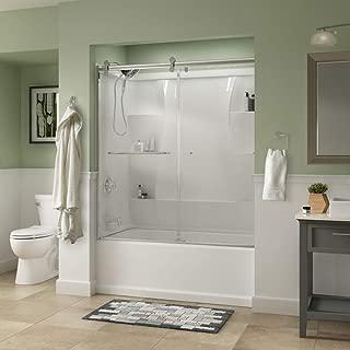 Delta Shower Doors SD3927426 Classic Semi-Frameless Contemporary Sliding Bathtub 60