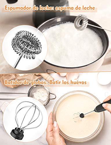 YISSVIC Batidoras espumadoras de leche eléctricas de mano