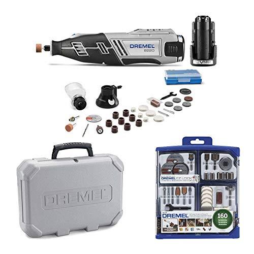Dremel 8220-2/28 12-Volt Max Cordless Rotary Tool w/All-Purpose Accessory Kit (2 Items)