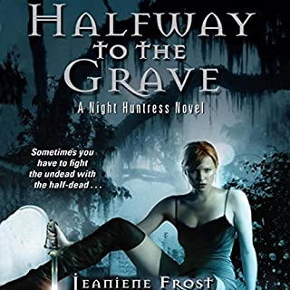 Halfway to the Grave     Night Huntress, Book 1              Auteur(s):                                                                                                                                 Jeaniene Frost                               Narrateur(s):                                                                                                                                 Tavia Gilbert                      Durée: 11 h et 18 min     20 évaluations     Au global 4,4