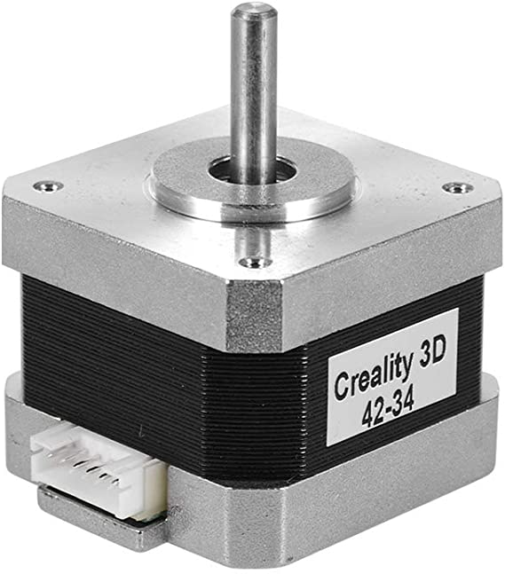 Aibecy Creality 3D Printer Stepper Stepping Motor 2 Phase 0.8A 1.8 Degree 0.4N.M for 3D Printer DIY CNC Accessory Replacement