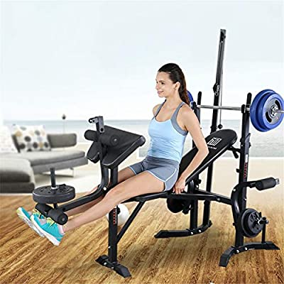 SUIKI Olympic Weight Benches - Adjustable Multi...