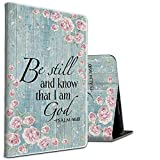 for Samsung Galaxy Tab A 10.1 Case 2016,Heavy Duty Shockproof Folding Stand Protective Cover with Auto Wake/Sleep for Samsung Tablet A 10.1 Inch (SM-T580/T585/T587),Be Still Know That I AM God