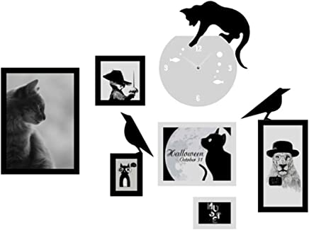 LIUXIN 写真の壁、環境保護の創造性フレームの壁シンプルなコンチネンタル写真のフレームの組み合わせ フォトウォール (Color : #2)