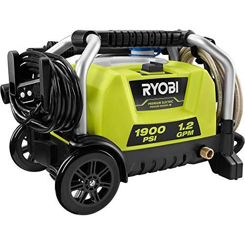 RYOBI RY1419MTVNM 1900 PSI 1.2 GPM Cold Water Wheeled Electric Pressure Washer