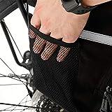 Bolsa para cuadro de bicicleta Serie de Roswheel sahoo 14891-A-SA cola de la bici del asiento posterior del tronco bolsa de sillín Bolsa de bastidor lateral Panniers bolsa 15L Robusto y fácil de limpi