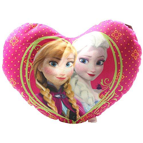 42cm Disney Gefrorene Liebes-Herz-Kissen - Anna & Elsa - Disney Princess [Toy]