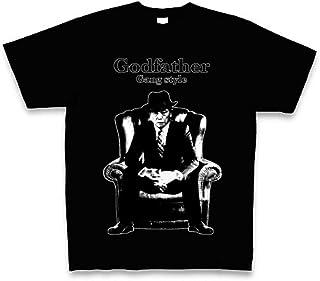 (クラブティー) ClubT Godfather Gang style ギャングスタイル麻生太郎 Tシャツ Pure Color Print
