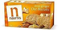 ネアンズ ジンジャービスケット 小麦不使用 200g Nairns Stem Ginger Biscuits - Wheat Free| 200 g 海外直送品