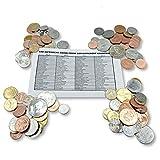 IMPACTO COLECCIONABLES Moneda - Colección de Monedas - 100 Monedas mundiales de 100 países Diferentes