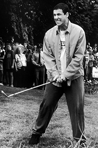 Erthstore 11x17 inch Wall Poster of Adam Sandler in Happy Gilmore Holding Golf Club