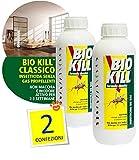 Set de 2 botes de insecticida Bio Kill de 1 l
