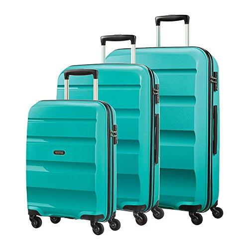 American Tourister  Bon Air, Set di valigie  turchese Lime Green 55cm, 66cm & 75cm